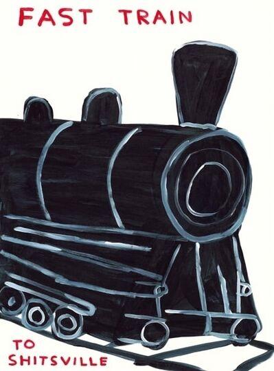 David Shrigley, 'Fast Train', 2021