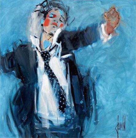 David Jamin, 'La cravate à pois', 2021