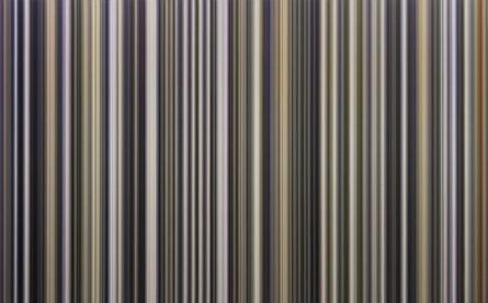 Yagiz Özgen, '400 Stripes as [Untitled#1(Lavender Mist)]', 2013