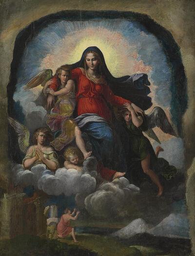 Girolamo da Carpi, 'The Assumption of the Virgin'