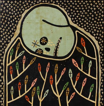 """Mike Egan, '3. """"In Death's Garden""""', 2017"""