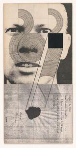 Ray Johnson, 'Untitled (Ray Johnson with Dina Merrill)', 1967/1974/1976