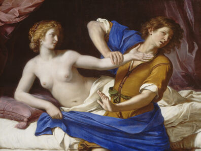 Guercino, 'Joseph and Potiphar's Wife', 1649