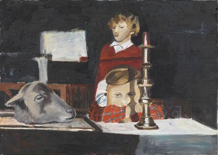 Amelie von Wulffen, 'Untitled (girl, candleholder, sheep)', 2014