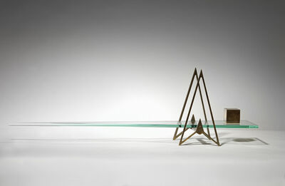 Johnny Hawkes, '14. Nothing weighs more than Everything, maquette (40/1 scale)', 2020