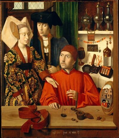 Petrus Christus, 'A Goldsmith in his Shop', 1449