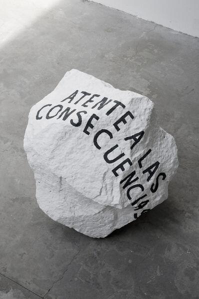 Cristian Franco, 'Atente a las consecuencias', 2017