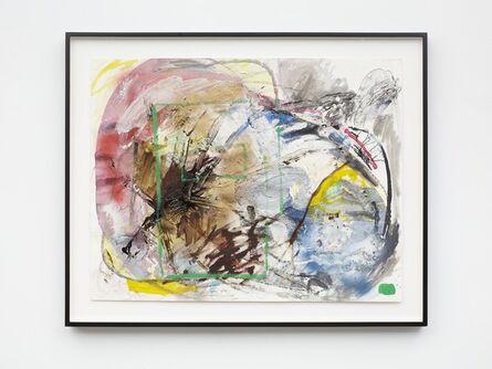Verena Dengler, 'The artists' notebook is full of evocative word combinations ', 2014