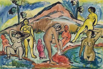 Francis Newton Souza, 'Untitled (Bathers)', 1946