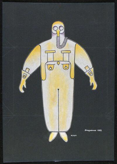 Alexander Rodchenko, 'Costume Design for Bedbug', 1913