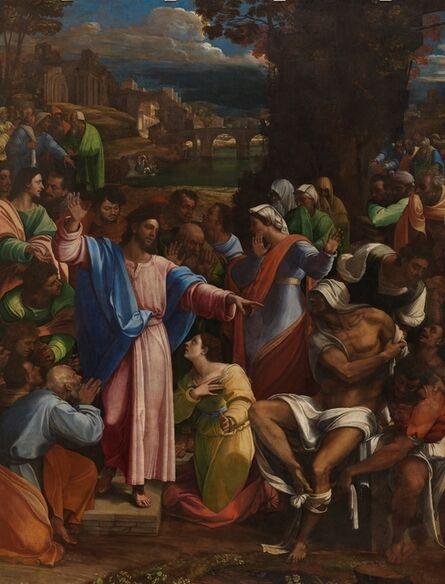 Sebastiano del Piombo, 'The Raising of Lazarus', 1517-1519