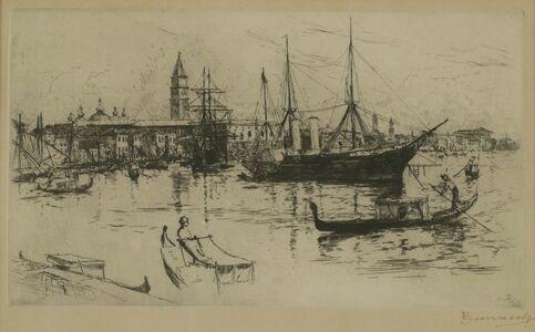 Frank Duveneck, 'Laguna, Venice', 1881