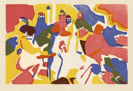 Wassily Kandinsky, 'Orientalisches', 1911