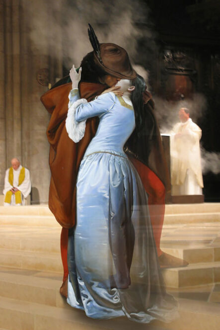 Joonsung Bae, 'The Costume of Painter - F. Hayez Kiss 3D', 2015