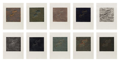 Yvonne Jacquette, 'Two Ferries Passing (Set of 10)  ', 1982-83