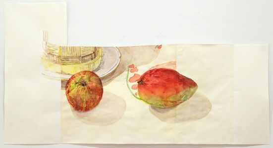 Dawn Clements, 'Apple and Mango', 2014