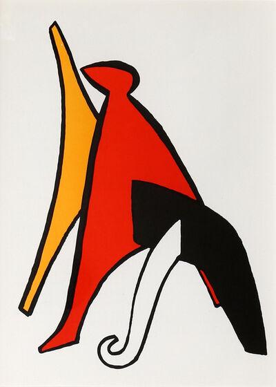 Alexander Calder, 'Stabiles V from Derrière le Miroir', 1965