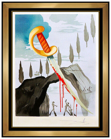 Salvador Dalí, 'Whoever Carries off Carmen', 1970