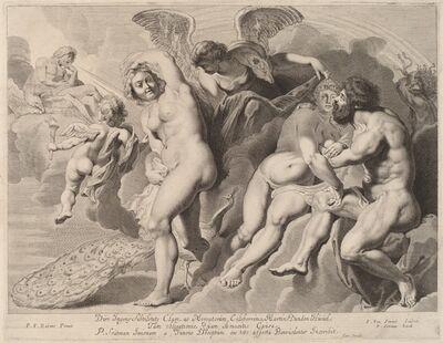 Pieter van Sompel, 'Ixion Deceived by Juno', 17th century
