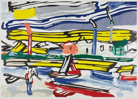 Roy Lichtenstein, 'The River, from Landscapes Series', 1985