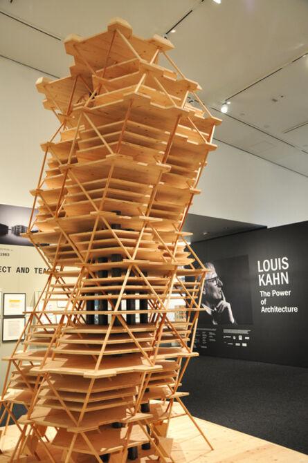 Louis Kahn, 'City Tower Project (model)', 2012