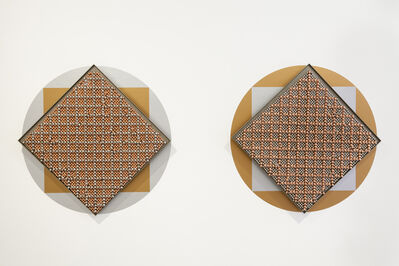 Haegue Yang, 'Sonic Rotating Geometries Type F – Copper and Nickel Plated #58', 2015