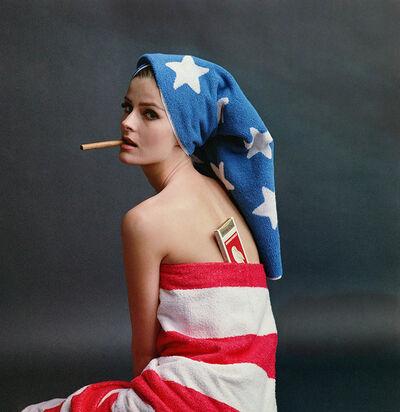 William Helburn, 'Angela Howard, White Owl Cigars', 1965