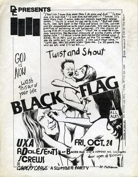 Raymond Pettibon, 'Raymond Pettibon, Black Flag', 1981