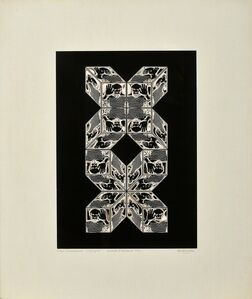 Pierre Cordier, 'Hommage to Picasso III', 1973