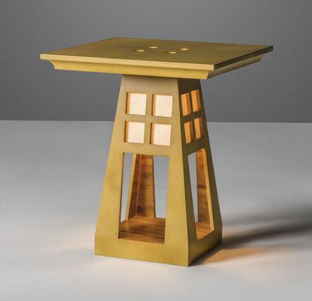 Charles Jencks, 'A unique 'Light Table'', 1985