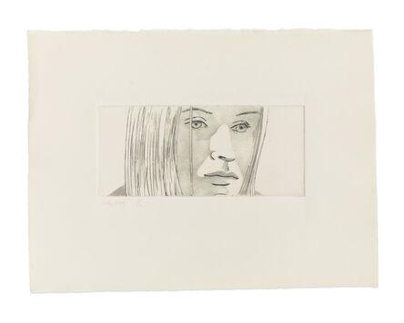 Alex Katz, 'June Ekman's Class: Kasha', 1972
