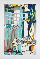 Roy Lichtenstein, 'Water Lilies with Japanese Bridge', 1992