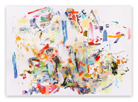 Gina Werfel, 'Fragment (Abstract Expressionism painting)', 2016