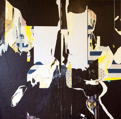 Erik de Bree, 'Wallpaper painting #30', 2016