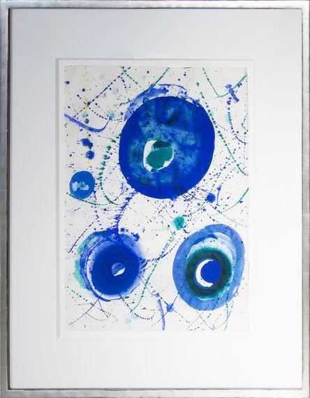 Sam Francis, 'Untitled (Blue Balls)', 1962
