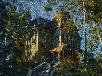 Abelardo Morell, 'After Hitchcock: Psycho. House. Tent-Camera Image', 2018