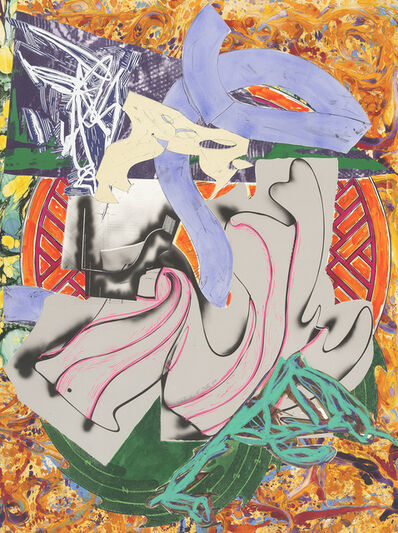"""Frank Stella, 'From 'The Waves"""" : Ahab CTP2', 1988"""