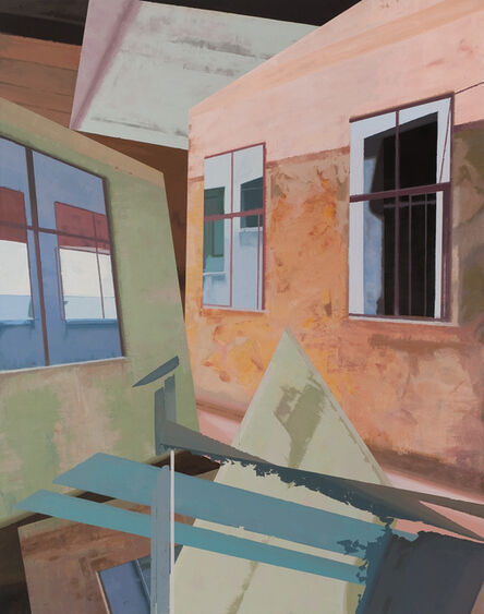 Hou Yong, 'Tilted Wall', 2014