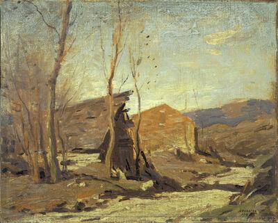 George M. Bruestle, 'Late Autumn Afternoon', 1918