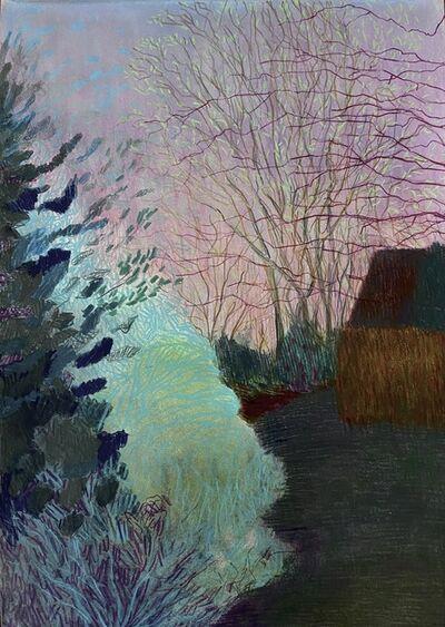 Per Adolfsen, 'Evening April in a Garden', 2021