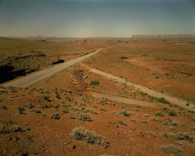 Steve Fitch, 'Three highways Between Mexican Hat and Bluff, Utah, June 18', 1983