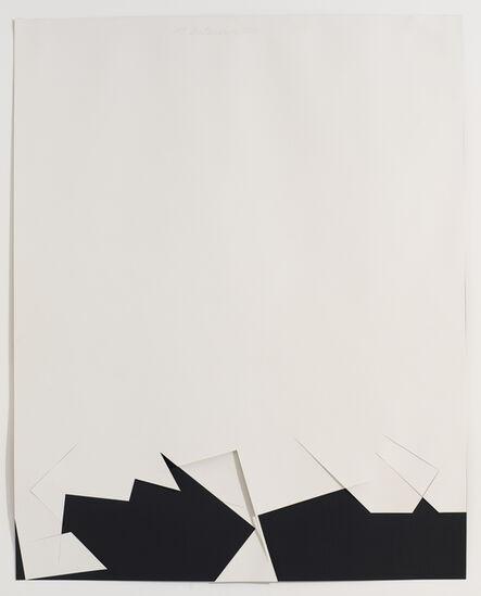 Stephen Antonakos, 'Untitled Cut, N#1', 1977