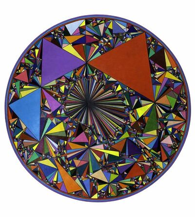 Dennis Koch, 'Untitled, Versor Parallel (Colorful Triangles)', 2019