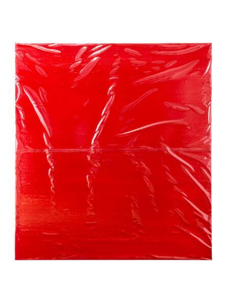 Angela de la Cruz, 'Plastic Cover II', 2016