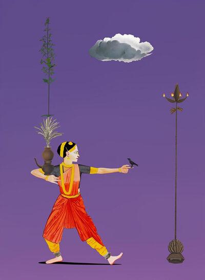 Surendran Nair, 'Alibis of the Cognates - VI', 2015