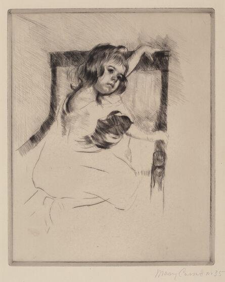 Mary Cassatt, 'Kneeling in an Armchair', ca. 1903