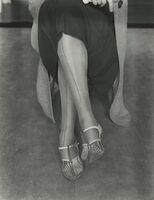 Dorothea Lange, 'Mended Stockings', ca. 1934