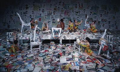 Wang Qingsong, 'Crazy Readers', 2013