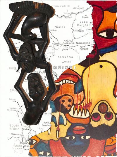 """Mark Gerard Brogan, '""""Untitled"""" after Malangatana', 2019"""