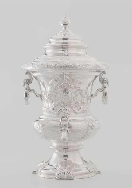 Attributed to Alger Mensma and Jan Lanckhorst, 'Wine fountain and cooler', 1731-1732